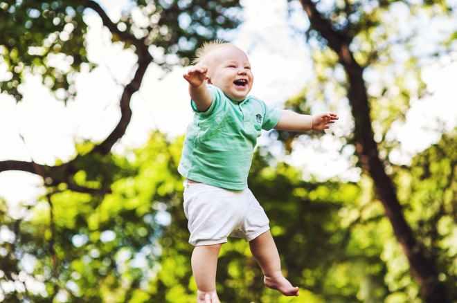 adorable baby blur boy